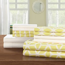 Chic Home Bailee 12-Pc Queen Sheet Set