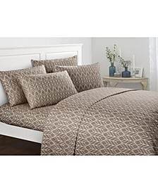 Fallen Leaf 4-Pc Twin Sheet Set