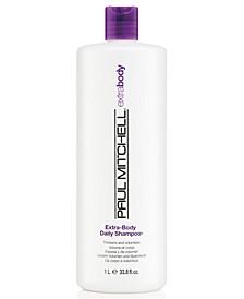 Extra-Body Daily Shampoo, 33.8-oz., from PUREBEAUTY Salon & Spa