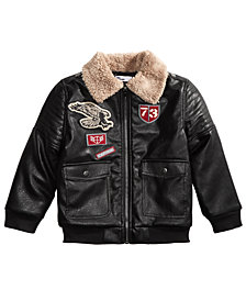 Epic Threads Little Boys Flight Jacket, Created for Macy's