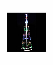 Vickerman 4' Christmas Show Tree With 152 Multi-Colored Led Lights