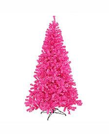 Vickerman 4 ft Hot Pink Artificial Christmas Tree