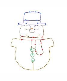 "Vickerman 48"" C7 Led Snowman Wire Silhouette"