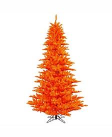 3' Orange Fir Artificial Christmas Tree