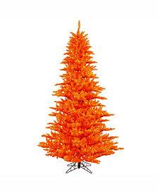 Vickerman 3' Orange Fir Artificial Christmas Tree