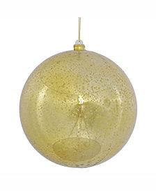 "Vickerman 8"" Shiny Gold Ball Ornament."