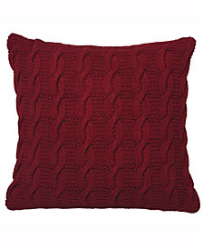 Vickerman Decorative Pillow Is Handknit By Artisan Makers
