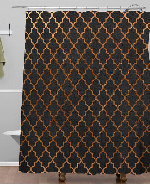 Deny Designs Iveta Abolina Moroccan Night Shower Curtain