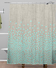 Deny Designs Iveta Abolina Hint of Mint Shower Curtain