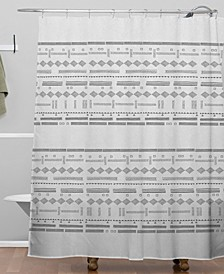 Iveta Abolina Study in Gray VII Shower Curtain