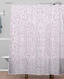 Deny Designs Iveta Abolina Lilac Lace Shower Curtain