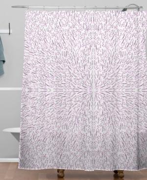 Deny Designs Iveta Abolina Lilac Lace Shower Curtain Bedding