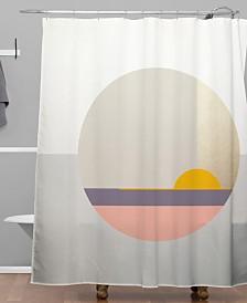 Deny Designs Iveta Abolina Bloc de couleur II Shower Curtain
