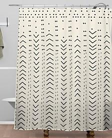 Deny Designs Iveta Abolina Mud Cloth Inspo VIII Shower Curtain