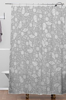 Iveta Abolina Crystalline Water Shower Curtain