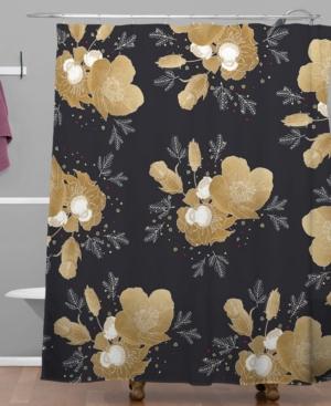 Deny Designs Iveta Abolina Midwinter Shower Curtain Bedding