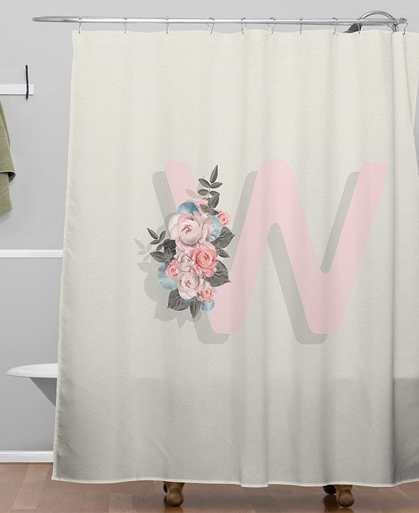 Deny Designs Iveta Abolina Pivoine W Shower Curtain