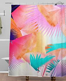 Iveta Abolina Cuban Sunset Shower Curtain