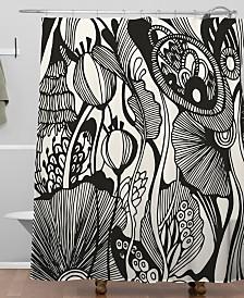 Deny Designs Iveta Abolina Vigne de Botanica Shower Curtain