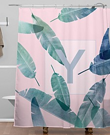 Iveta Abolina Peaches N Cream Y Shower Curtain