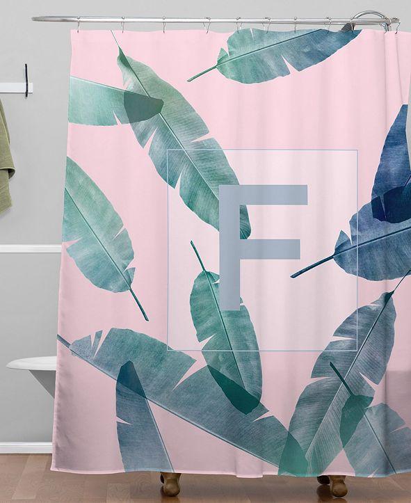 Deny Designs Iveta Abolina Peaches N Cream F Shower Curtain