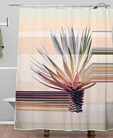 Iveta Abolina Agave Stripe Shower Curtain