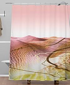 Iveta Abolina Coral Heat Shower Curtain