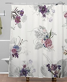 Iveta Abolina French Countryside Cream Shower Curtain