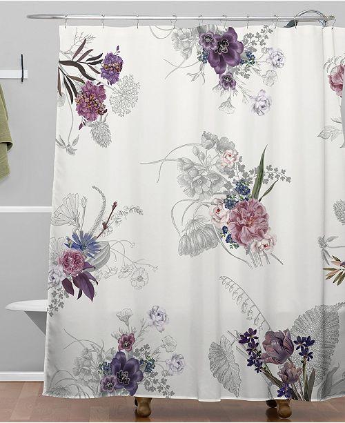 Deny Designs Iveta Abolina French Countryside Cream Shower Curtain