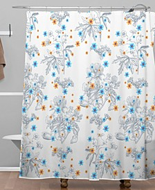 Iveta Abolina Vintage Garden Shower Curtain