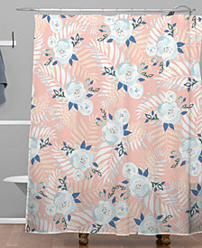 Deny Designs Iveta Abolina Sweet Stella Peach Shower Curtain