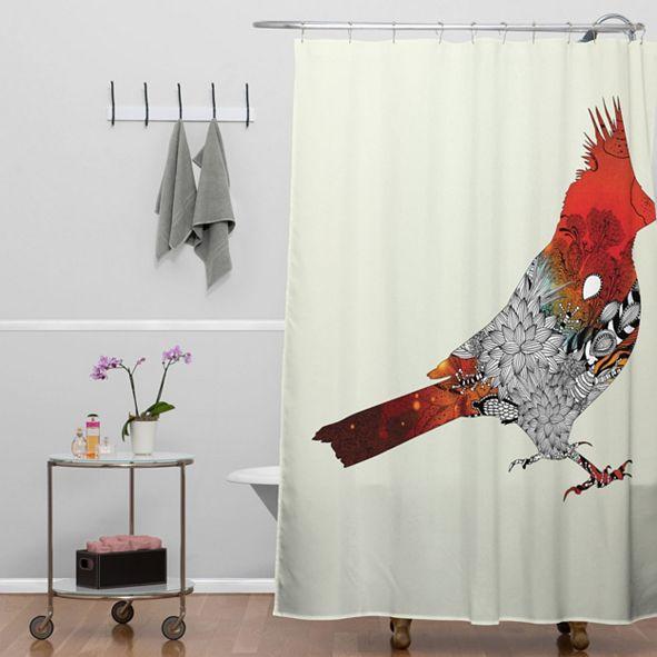 Deny Designs Iveta Abolina Floral 1 Shower Curtain
