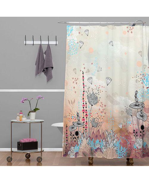 Deny Designs Iveta Abolina Cream Tribal Shower Curtain