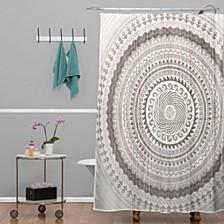 Iveta Abolina Nightplay Shower Curtain