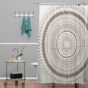 Deny Designs Iveta Abolina Nightplay Shower Curtain Bedding