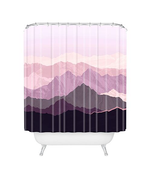 Deny Designs Iveta Abolina Sugar Plum Shower Curtain