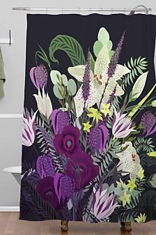 Deny Designs Iveta Abolina Viola Garden Shower Curtain