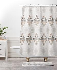 Deny Designs Iveta Abolina Pearl Cream Bath Mat