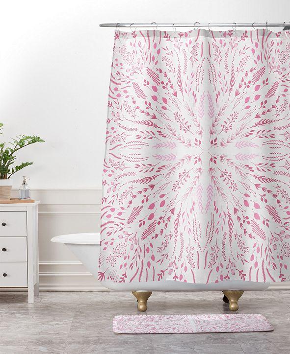 Deny Designs Iveta Abolina Lilac Lace Bath Mat