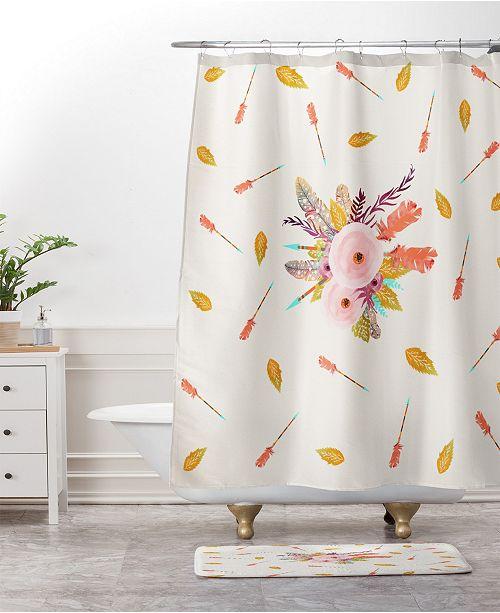 Deny Designs Iveta Abolina Mud Cloth Inspo I Bath Mat