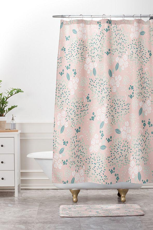 Deny Designs Iveta Abolina Burgundy Crossroads Bath Mat