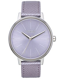 Women's Kensington Leather Strap Watch 37mm