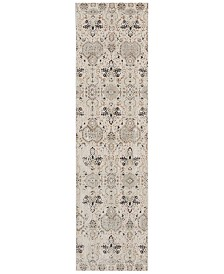 "kathy ireland Home KI34 Silver Screen KI341 2'2"" x 7'6"" Runner Area Rug"