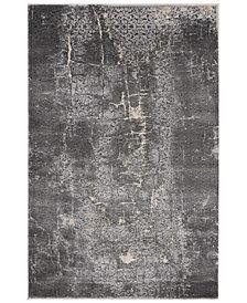 "kathy ireland Home KI35 Heritage KI353 Charcoal 3'11"" x 5'11"" Area Rug"