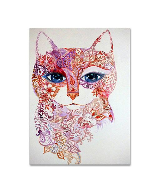 "Trademark Global Oxana Ziaka 'Tattoo' Canvas Art - 19"" x 14"" x 2"""