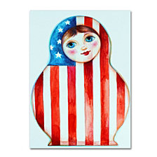 Oxana Ziaka 'Russian Doll' Canvas Art Collection