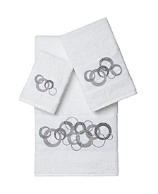 Annabelle 3-Pc. Embellished Towel Set