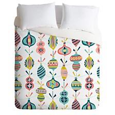 Deny Designs Heather Dutton Decorated White Twin Duvet Set