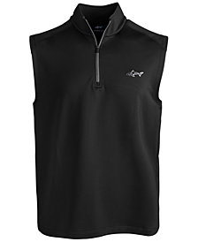 Attack Life by Greg Norman Men's Stretch Quarter-Zip Vest, Created for Macy's