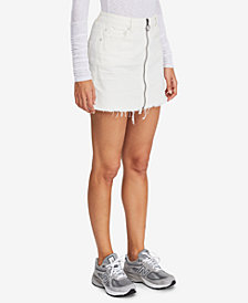 Free People Mini Zip It Up Skirt